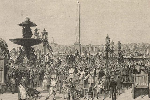 Похороны Виктора Гюго.
