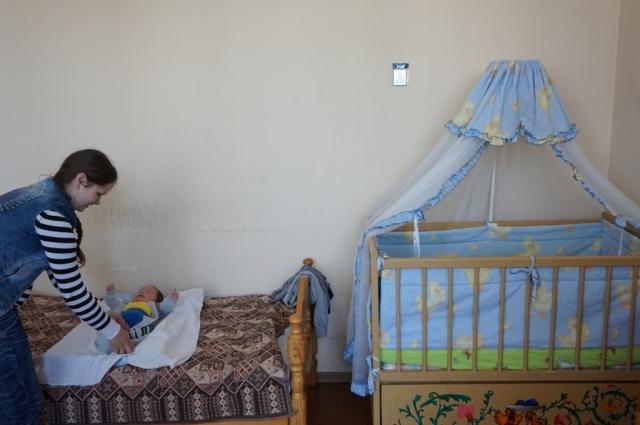 В приюте молодые мамы получают поддержку и крышу над головой.