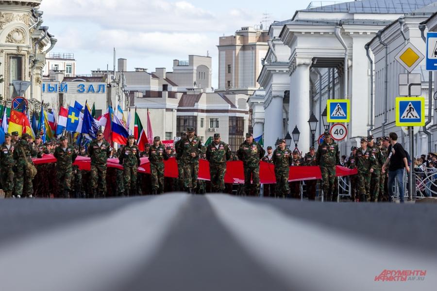 Бессмертный полк, день победы в Казани 2018, 9 мая