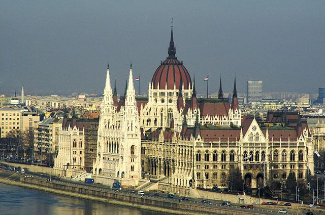 Здание парламента, Будапешт.