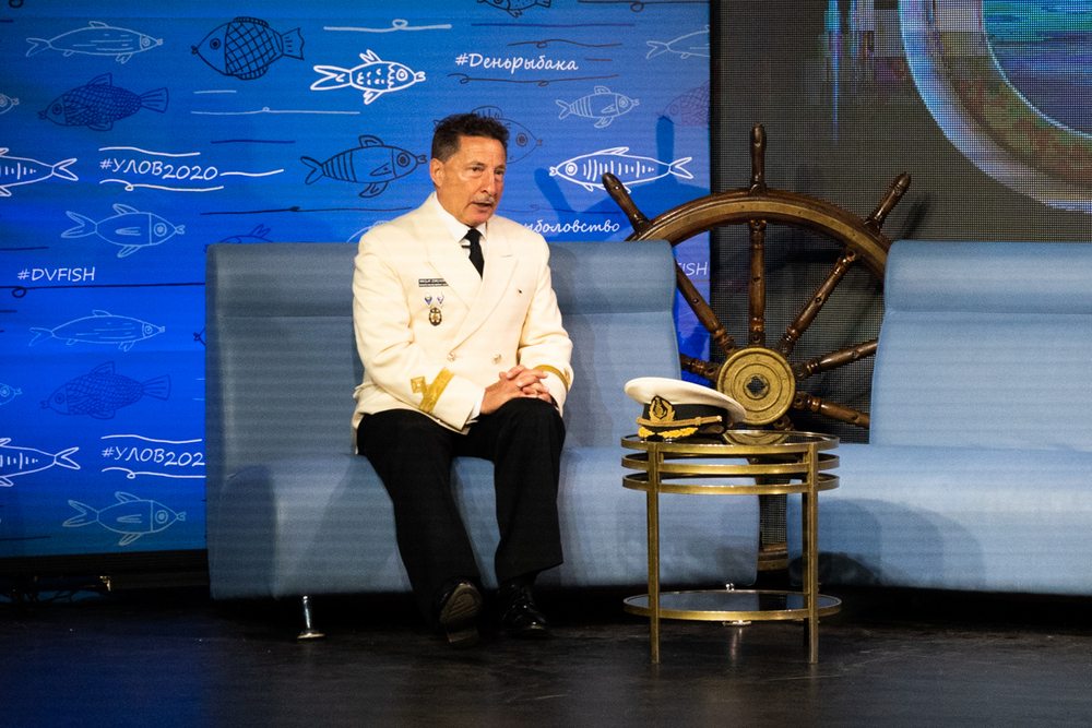 Капитан «Паллады» Николай Зорченко рассказывает о кругосветке.