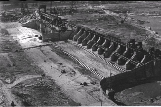 Строительство ГЭС стало началом масштабной индустриализации региона.