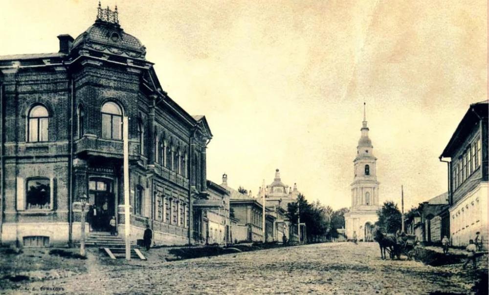 Улица Пирогова в 1961 году, фото В.Полюбина.