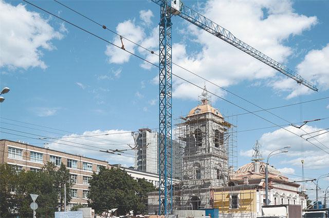 Этот храм на Преображенской площади был последним из взорванных в советское время