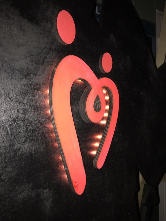 Арт-объект «Любящее сердце» останется в донорском центре.