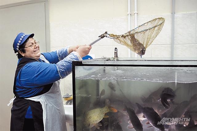 Загляните рыбе в глаза - они должны быть ясными!