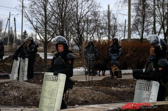 Полиция в Плеханово.