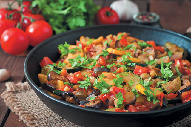 Гарнир из болгарского перца