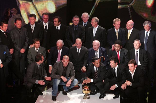 Обладатели награды «Золотой мяч» за последние 50 лет.