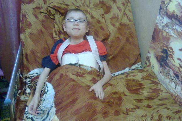 Вы помогли Марине купить сыну новую специальную кровать, ортопедический матрац.