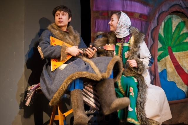 Современный спектакль про Емелю — версия декабря 2016 года.