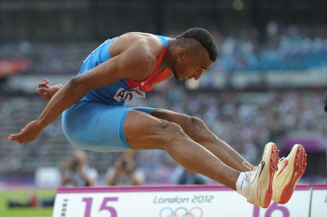 Тройной прыжок Люкмана в финале на ХХХ Олимпийских играх в Лондоне. 2012 год