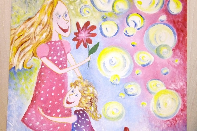 Фрагмент рисунка Софьи Савинской.
