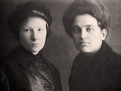 Мильда Драуле и Леонид Николаев, ок. 1930 г
