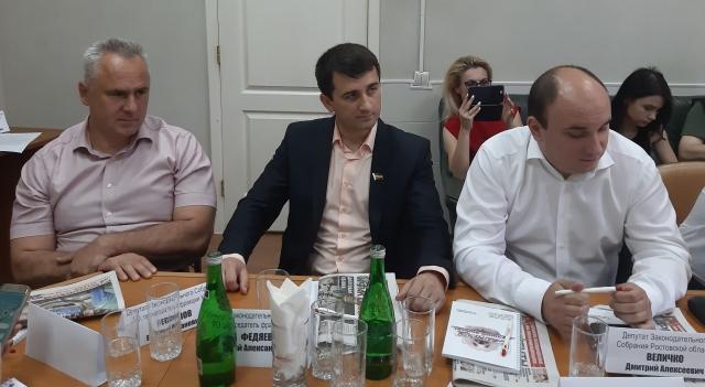 Евгений Бессонов, Евгений Федяев и Дмитрий Величко