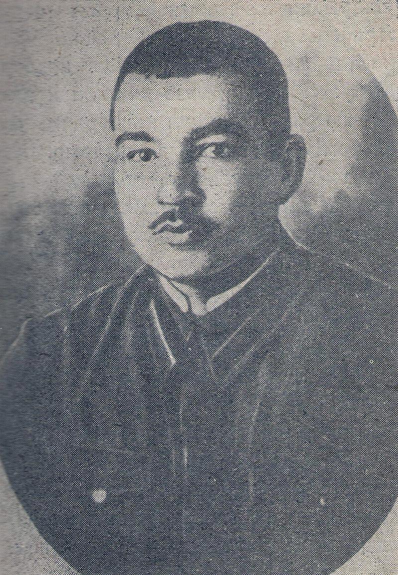 Мехти Гусейн-заде в Тбилисском военном училище, 1941 год.