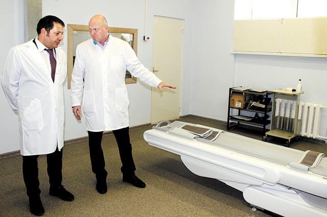 Клиника закупает современное оборудование, авот докторов не хватает.