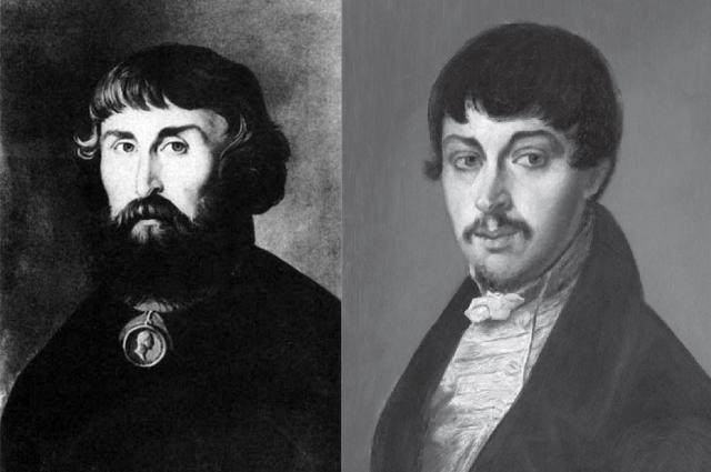 Слева— сам Лев Расторгуев, а справа— его зять Харитонов
