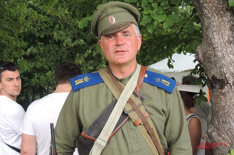 Александр Могильников приехал на фестиваль из Крыма