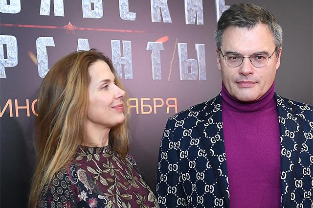Актёр Евгений Дятлов с супругой Юлией Джербиновой.