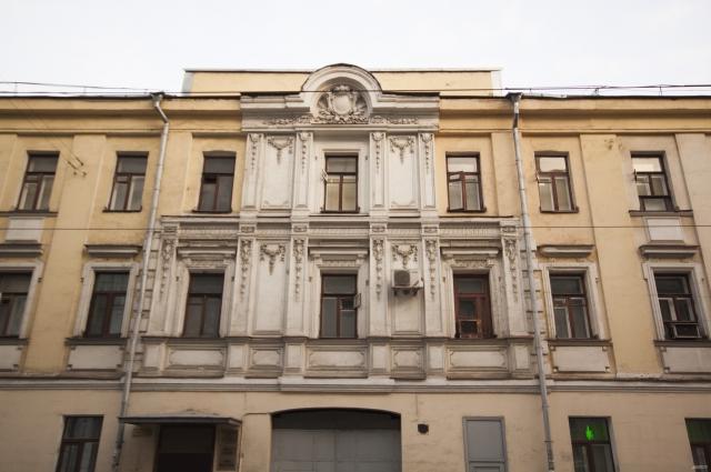 Сущевская улица, д. 18, 1897 год. Архитектор Н. А. Тютюнов