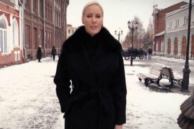 Елена Летучая прошлась по популярным местам Кирова.