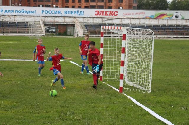 регулярно проводим соревнования по футболу среди дворовых команд, готовим призы, знаки отличия.