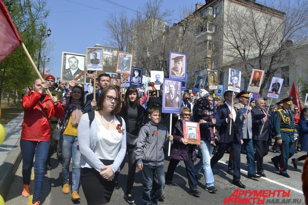 Акция-шествия прошла в 130 населённых пунктах региона.