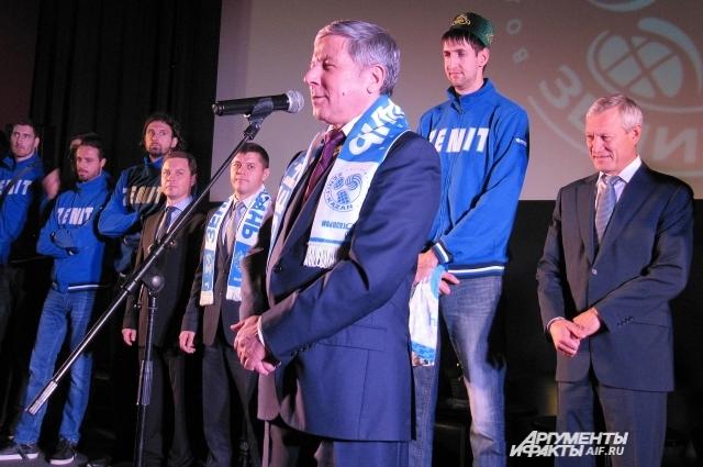 Рафкат Кантюков поставил задачи на сезон.
