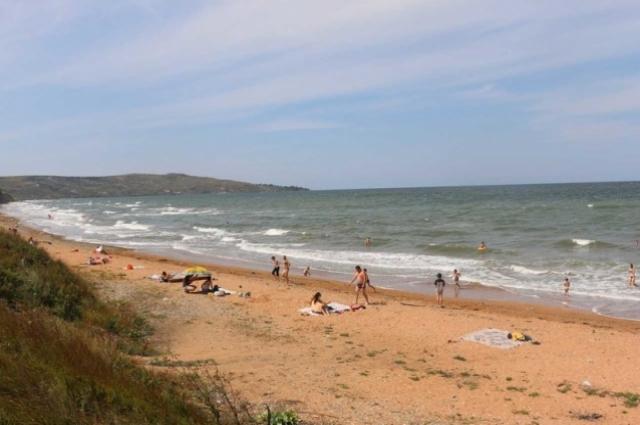 Пляжи Керчи.