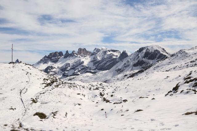 Ольга перешла через Альпы, как Суворов два столетия назад.