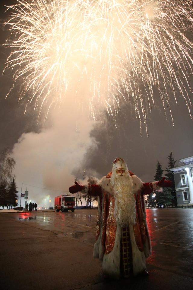 Санкт-Петербург станет двадцать пятым городом на путевой карте всероссийского Деда Мороза.