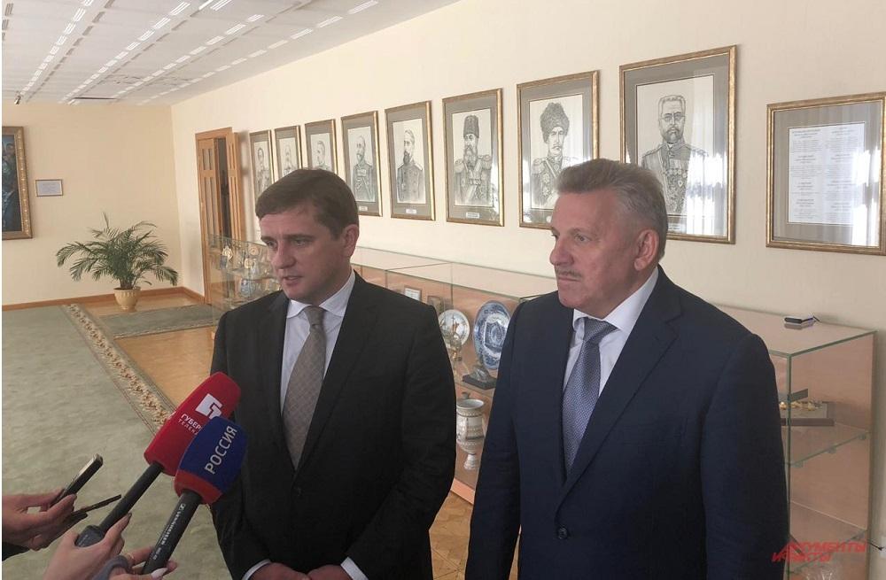 Илья Шестаков и Вячеслав Шпорт заверили жителей Приамурья: рыбалка будет удачной