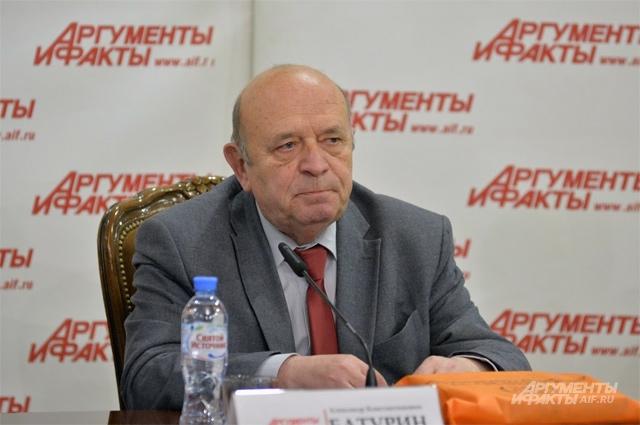 Александр Батурин, руководитель научного направления