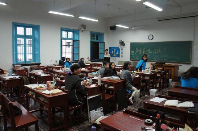 Осипов в Китае