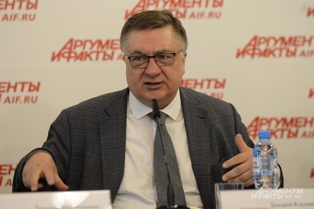 Андрей Туманов, председатель Московского союза садоводов, главный редактор газеты «Ваши 6 соток»