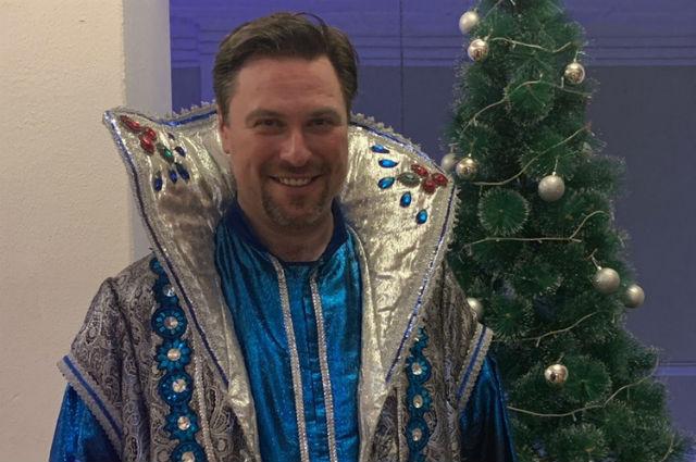 Игорь Корнилов привык встречать Новый год в роли Деда Мороза.
