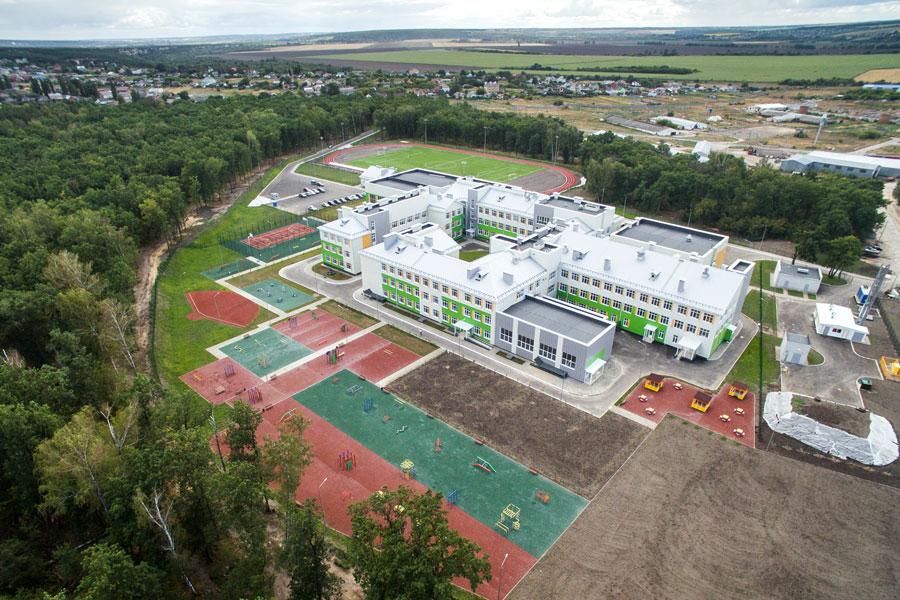 Новая школа в Ямном примет учеников уже 1 сентября.