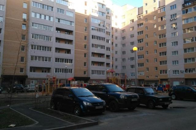 Жилой комплекс на улице Красина.