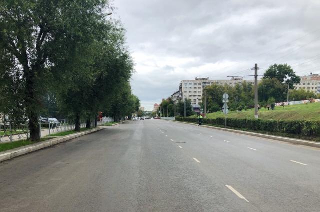 В этом году в Перми привели в порядок дорогу на улице Петропавловской.