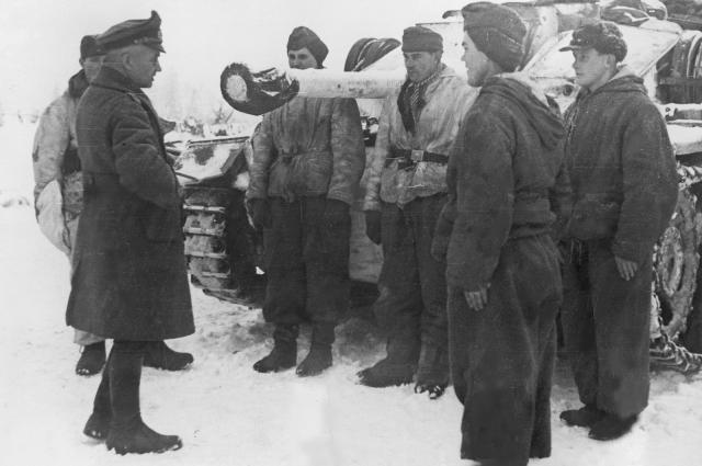 Генерал-фельдмаршал Вальтер Модель, январь 1944 г.