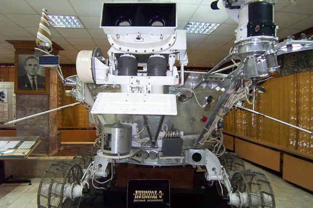 Луноход-3, так и не полетевший в космос