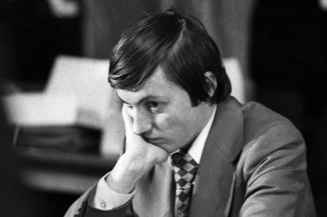 Анатолий Карпов, 1977 г