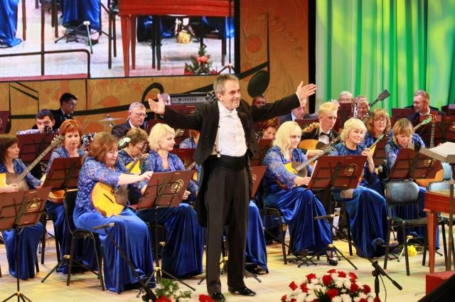 Концерт барнаульского оркестра «Сибирь».