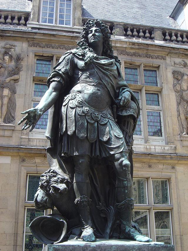 Статуя Людовика XIV.