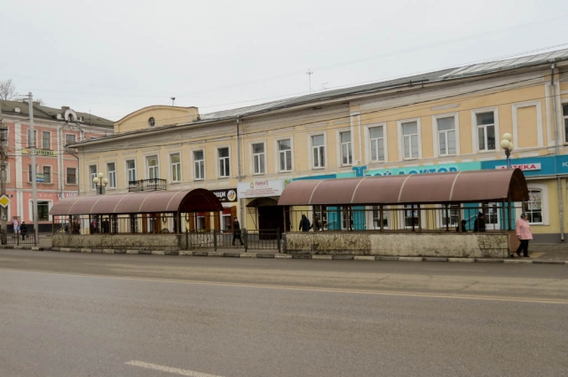 Переход возле Каминского.