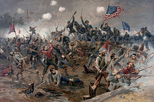 Битва при Спотсильвейни, 1864 r.