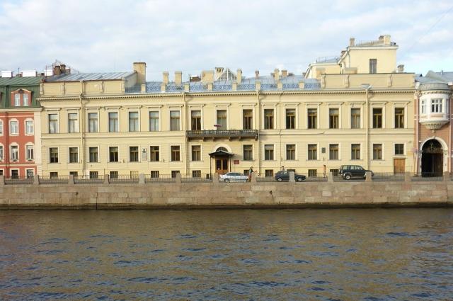 Здание штаба Отдельного корпуса жандармов, где после 1838 года помещалось Третье отделение.