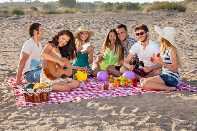 Пикник, пляж