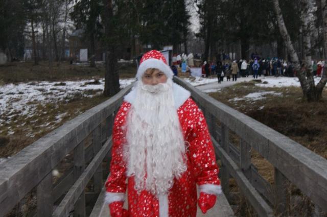 Подрастающий Дед Мороз.